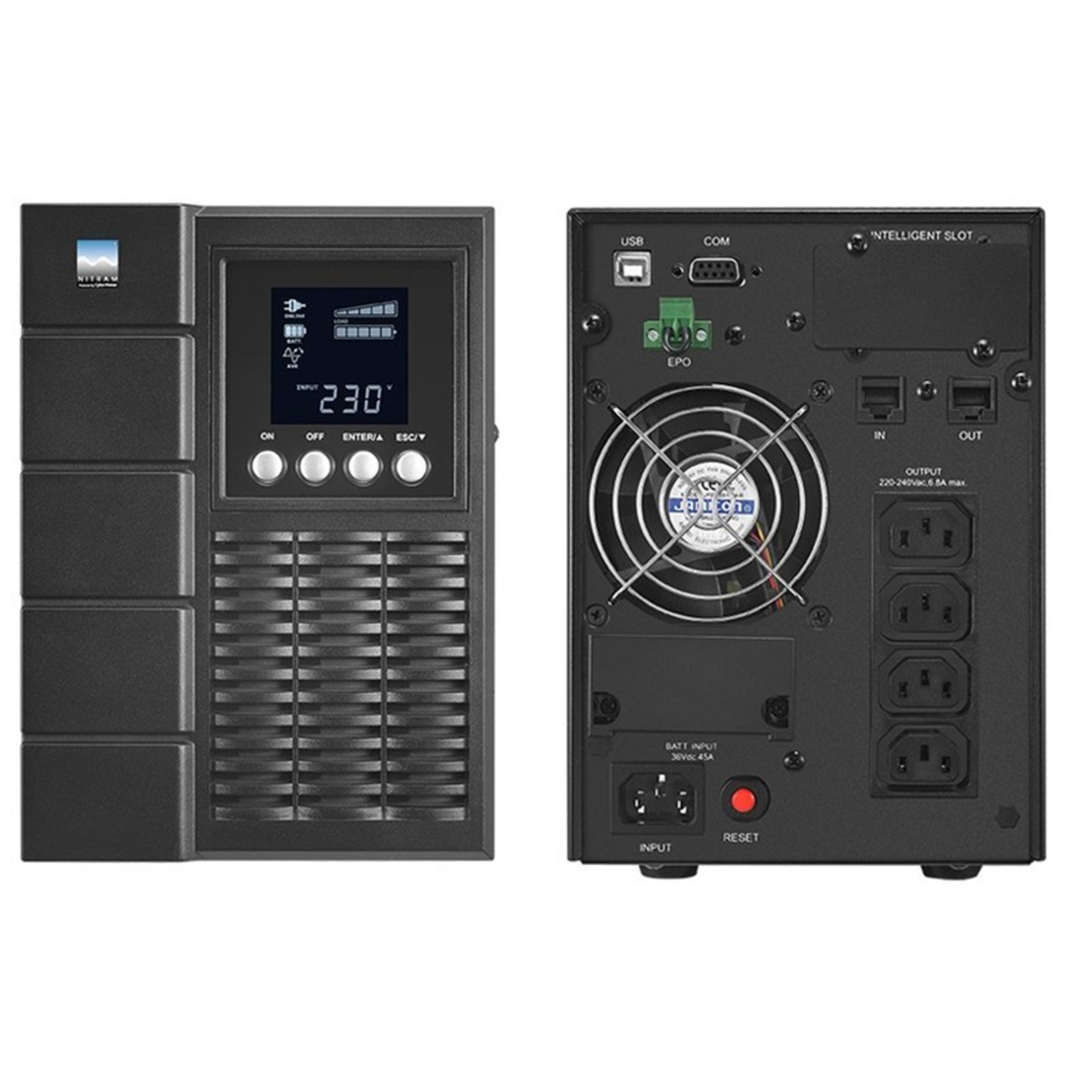 Buy the CyberPower OLS1000E 1000VA/800W On-Line Tower UPS