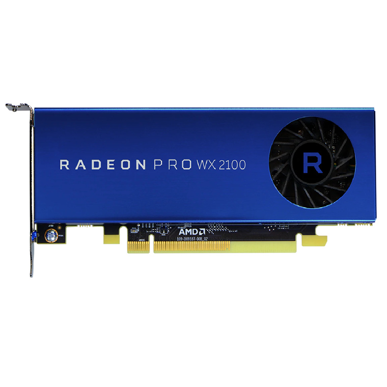 Buy the AMD Radeon Pro WX 2100 2G Workstation Graphics Card