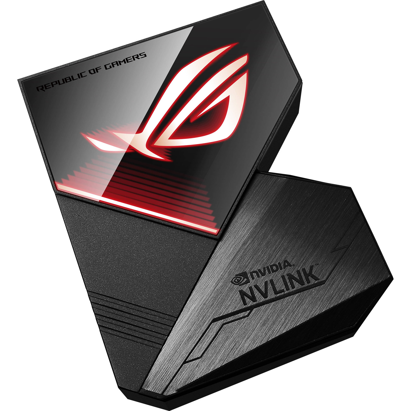 Buy the ASUS ROG NVLink Bridge with Aura Sync RGB- 4 Slot ( ROG