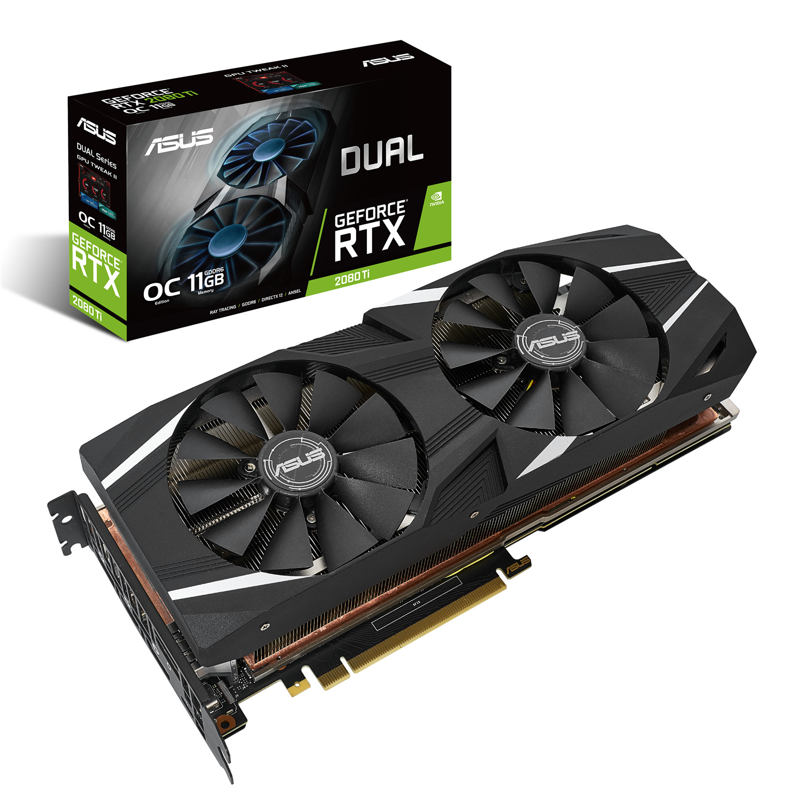 Buy the ASUS GeForce RTX 2080 Ti Dual OC Edition Graphics