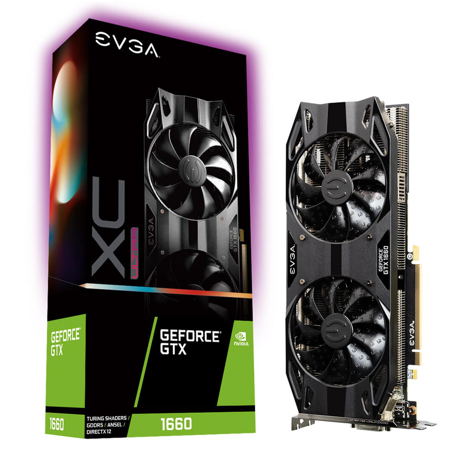 Buy the EVGA GeForce GTX 1660 XC Ultra Gaming 6GB GDDR5
