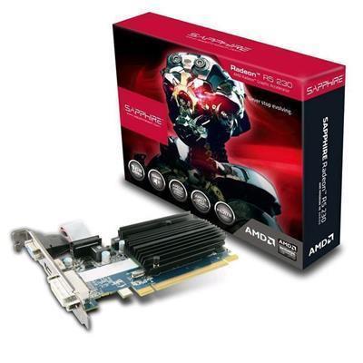 Buy the Sapphire R5 230 1GB DDR3 PCI-E Video card, GPU Speed