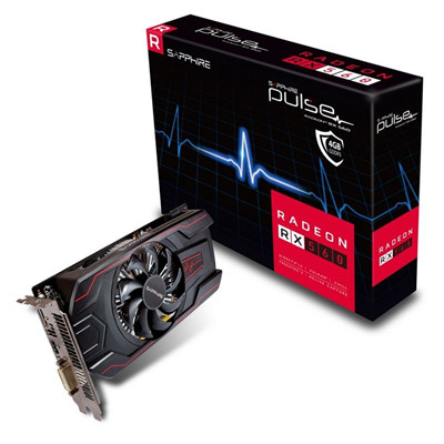 Buy the Sapphire Pulse Radeon RX560 4G GDDR5 Graphics Card