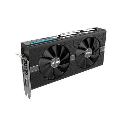 Buy the Sapphire Nitro+ RX580 8G GDDR5 Graphics Card, GPU Upto 1411 MHz,  Dual    ( 11265-01-20G ) online