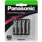 Panasonic R03NP/4B AAA 4 Pack Panasonic Extra Heavy Duty