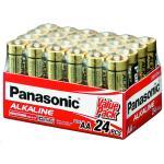 Panasonic LR6T/24V AA 24 Pack 1.5V Alkaline bulk pack Alkaline-Zinc 20 Longer Lasting protects power for upto 10 years