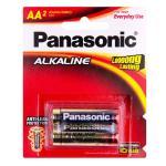 Panasonic LR6T/2B Alkaline Batteries AA 2 Pack mercury free and leak resistant - Best value for money