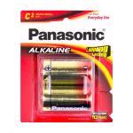 Panasonic LR14T/2B Alkaline Batteries C 2 Pack  LR14 1.5v