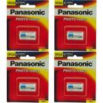 Panasonic Bundle deal of 4 x CR-123AW genuine CR123A 3V Photo Lithium Camera Battery 1pk 1400mAh