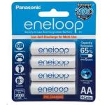Panasonic BK-3MCCE/4BA Eneloop Rechargeable AA 4pk NiMH 1.2V batteries retail pack Pre-charged