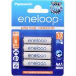 Panasonic BK-4MCCE/4BA Eneloop NiMH Rechargeable AAA 4pk retail pack