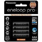 Panasonic BK-4HCCE/4BT Eneloop PRO AAA 4 Pack 950mAh rechargeable  designed for high drain devices.