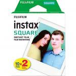 FujiFilm Instax SQUARE Instant Film 20 Pack