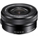 Sony E PZ 16-50mm f/3.5-5.6 OSS Lens , E-Mount Lens/APS-C Format, Aperture Range: f/3.5-5.6 to f/22-36