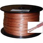 Dynamix CA-SPK14-50 50M 14 AWG Speaker audio Cable 5/5mm x (7/26/0.12) x 2F Transparent PVC Jacket 2 core 14 gauge