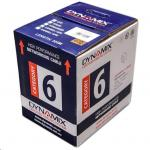 Dynamix C-C6-SLDBLUE 305m Cat6 Blue UTP SOLID Cable Roll, 250MHz, 23AWGx4P, PVC Jacket. Supplied on Plastic Reel in box