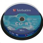 Verbatim 43437 700MB DataLife  CD-R 700MB 52X 10PK Spindle