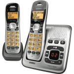 Uniden DECT1735+1 cordless phone Digital Answer Machine, 70 Phonebook Memories with 30 Caller ID Memories, Wireless Network Friendly Digital Duplex Speaker On Handset, 10 Hour talk Time, Multi handset up to 6 units