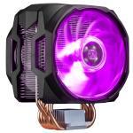 Cooler Master MasterAir MA610P RGB CPU Cooler with 12mm RGB LED PWM Fan, 6 Heat Pipes / Direct Contact / Aluminum Fins INTEL: LGA 2066 / 2011-3 /2011/1200 /1151/1150 / 1155 / 1156 / 1366 / 775, AMD AM4 / AM3+ / AM3 / AM2+ / AM2 / FM2+ / FM2