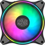 Cooler Master MasterFan MF120 Halo ARGB PWM 120mm ARGB Fan, Dual loop Addressable RGB Lighting,