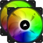 Corsair SP RGB  PRO 140 Dual Fan Pack SP140 RGB PRO Performance Fan DualFan Pack with Controller