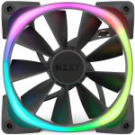 NZXT Aer 120 RGB 2 120mm Single Case Fan. RGB, PWM,  Requires HUE 2 Lighting Controller