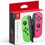 Nintendo Switch Joy Con Neon Green and Neon Pink Controller Set