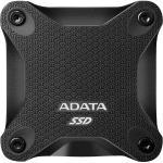 ADATA SD600Q Portable SSD 240GB , USB 3.2 Gen1 ( backward compatible with USB 2.0 ), Black