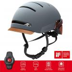 LIVALL BH51T Misty Blue Urban Cycle Road Bike scooter Helmet with Remote Control and 270 Degree Integrated LED Indicator Lights unisex