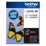 BROTHER Ink Cartridge LC237XLBK Black Inkjet 1200 pages High Yield
