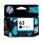HP Ink Cartridge 63 Black 190 Page  F6U62AA