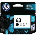 HP Ink Cartridge 63 Black 190 Page  F6U62AA
