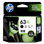 HP Ink Cartridge 63XL Black High Yield 480 Page  F6U64AA