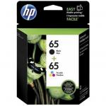 HP 65 Clr/Blk Ink Crtg Combo 2-Pack