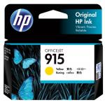 HP 915 Ink Cartridge - Yellow - Inkjet - 315 Pages