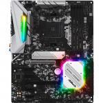 ASRock B450 Steel Legend ATX motherboard For AMD Ryzen 2nd/3rd Gen, Socket AM4,B450, 4X DDR4 DIMM, 2XM.2, 2XPCIE X16, 4XPCIE X1, 7XUSB, 1XType C, LAN,HDMI/DP, Internal I/O: 1XUSB3.1, 2XUSB2.0, 1X 12V RGB Header, 1X5V A-RGB Header