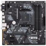 ASUS PRIME B450M-A mATX For AMD Ryzen 2nd/3rd Gen,Socket AM4,B450, 4X DDR4 DIMM, 1XM.2, 1XPCIE X16, , 2XPCIE X1, 6XUSB, LAN, VGA/DVI/HDMI, Internal I/O: 1XUSB3.1, 2XUSB2.0, 1X 12V RGB Header