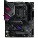 ASUS ROG STRIX X570-E Gaming ATX For AMD Ryzen 2nd/3rd Gen 5000 Series CPU,AM4, 2XM.2, 3XPCIE 4.0 X16, 2X PCIE X1, 7XUSB, 1X Type C,LAN , AX Wifi+BT, HDMI/DP,Internal I/O:1XUSB3.1, 2XUSB2.0, 2X 12V RGB Header, 2X 5V RGB Header, 1XType C Hea