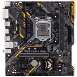 ASUS TUF B360M-E GAMING MATX Form, For Intel 8th/9th Gen CPU, LGA1151,B360, 2xDDR4 DIMM, 1XM.2, 1XPCE X16, 2XPCIE X1, 6XUSB, HDMI/DVI, LAN,  Internal I/O: 1XUSB3.1, 2XUSB2.0, 1X12V RGB Header.