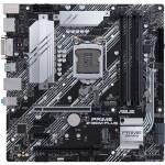 ASUS PRIME Z490M-PLUS MATX Form, For Intel 10th Gen CPU, LGA1200,Z490, 2XM.2, 4X DDR4 Dimm Slots, Back I/O: 5X USB, 1X Type C, Lan, DP, HDMI, DVI, PS2, HD Audio, Internal I/O: 2XUSB 3.2, 2XUSB 2.0, 1X 12V RGB Header