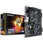 Gigabyte Z370-HD3 ATX Form Factor, For Intel 8th Gen Coffee Lake LGA1151, 4x DDR4 - 4000Ghz, M.2/SATA USB3.1, HDMI DVI.