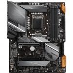 Gigabyte Z590 GAMING X ATX Form Factor, For Intel 10th/11th Gen LGA1200, Z590, PCIE 4.0, 3XM.2, 4X DDR4 Dimm, Back I/O: 8XUSB, 1XType C, DP , PS2, Lan, HD Audio, Intertrnal I/O: 2XUSB 2.0, 1XUSB 3.2, 1XType C Header, 2X12V RGB Header, 2X5V