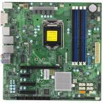 Supermicro X11SSQ Desktop Board mATX, LGA1151, Q170, 4 DIMM, 2x GbE (i219LM + i210AT), 6x SATA3, 4x USB3.0, 1x PCI-E 3.0 x16 2x PCI-E 3.0 x4, 1x PCI-E 3.0 x1, 1x M.2, 1x HDMI, 1x DP, 1x DVI-D, 1x eDP
