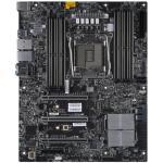 Supermicro X11SRA Workstation Board, ATX, LGA2066, 8 DIMM, 1x 5G RJ45, 1x 1G RJ45, 6x SATA3, 2x USB3.1, 6x USB3.0, 3x PCI-E 3.0 x16, 1x PCI-E 3.0 x4, Shared IPMI, 7.1 HD Audio, 2x M.2