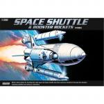 Academy - 1/288 Space Shuttle With Booster Rockets