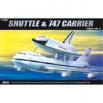 Academy - 1/288 Shuttle & 747 Carrier