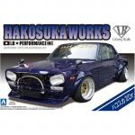 Aoshima - 1/24 - Hakosuka Works Car