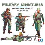 Tamiya Military Miniature Series No.002 - 1/35 - Germany Army Infantry