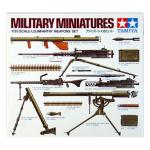 Tamiya Military Miniature Series No.121 - 1/35 - U.S. Infantry Weapons Set