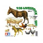 Tamiya Military Miniature Series No.128 - 1/35 - Livestock Set